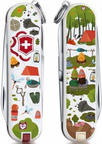 Нож-брелок Classic Nature Adventure Victorinox
