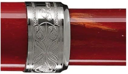 Перьевая ручка Visconti Rembrandt, Red PT (Перо F)