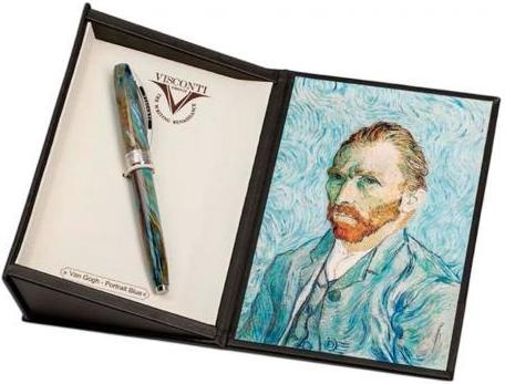 Ручка перьевая Van Gogh 2011 Visconti, Portrait Blue (Перо M)