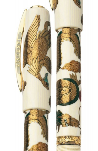 Перьевая ручка Visconti Dragon and Phoenix Limited Edition, Maki-e