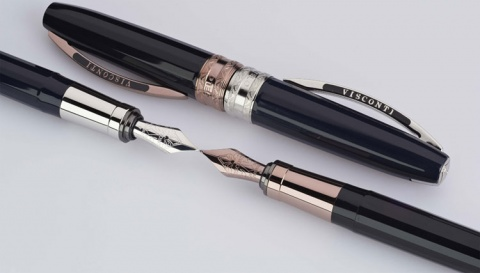 Шариковая ручка Visconti Michelangelo, Black GT