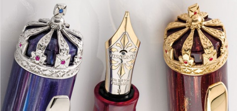 Перьевая ручка Visconti Queen Elizabeth Diamond Jubilee Limited Edition, Purple PT (Перо M)