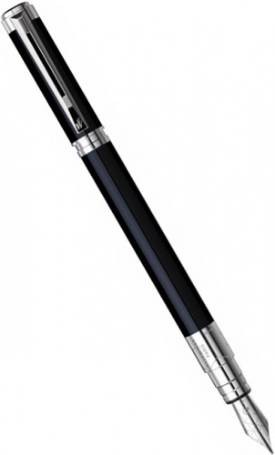 Перьевая ручка Waterman Perspective, Black CT (Перо F)