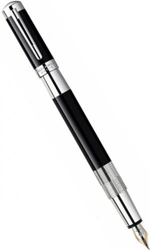 Перьевая ручка Waterman Elegance, Black ST (Перо F)