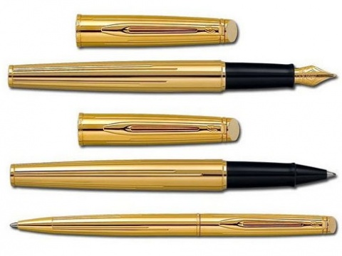 Ручка-роллер Waterman Hemisphere, Golden Shine