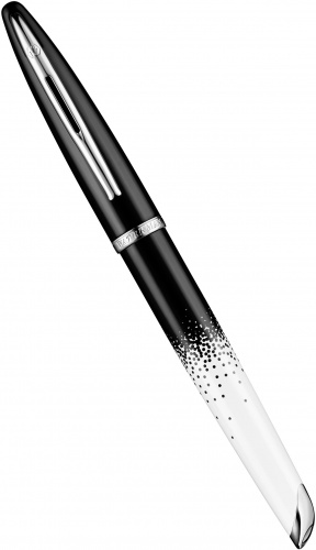 Перьевая ручка Waterman Carene 2015 Ombres et Lumieres Special Edition, Black and White ST (перо F)