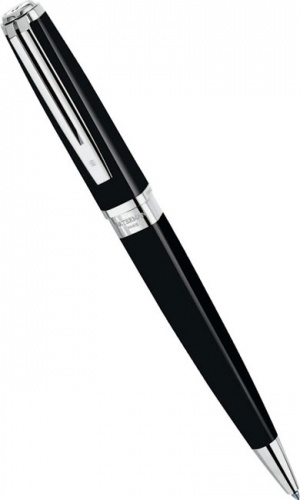 Шариковая ручка Waterman Exception Slim, Black Lacquer ST
