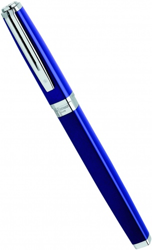 Перьевая ручка Waterman Exception Slim, Blue Lacquer ST (Перо F)