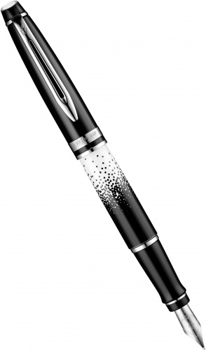 Перьевая ручка Waterman Expert 2015 Ombres et Lumieres Special Edition, Black and White CT (перо F)