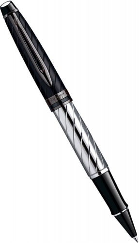 Ручка-роллер Waterman Expert Precious, Black / Palladium