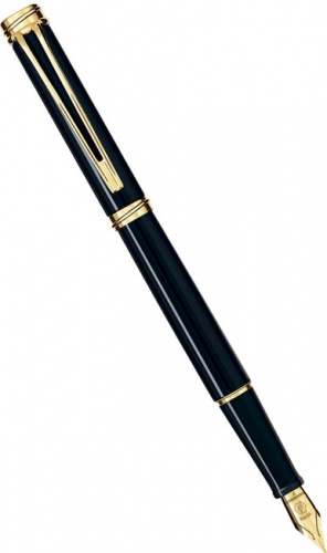 Перьевая ручка Waterman Harmonie, Black GT (Перо F)