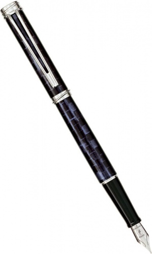 Перьевая ручка Waterman Harmonie, Patio Blue CT (Перо F)