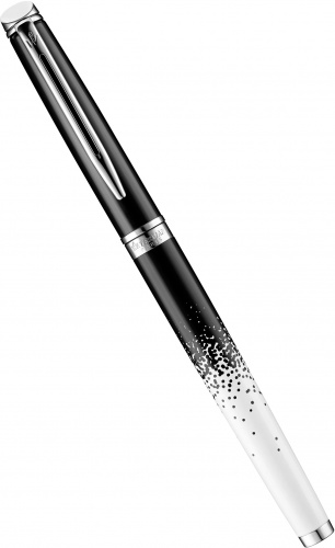 Ручка-роллер Waterman Hemisphere Essential 2015 Ombres et Lumieres Special Edition, Black and White CT