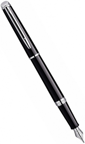 Перьевая ручка Waterman Hemisphere Essential, Mars Black CT (перо F)