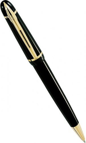 Шариковая ручка Waterman Phileas, Solid Black GT
