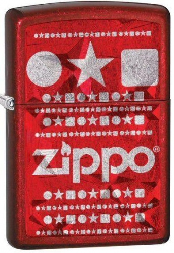 Зажигалка Candy Apply Red Zippo