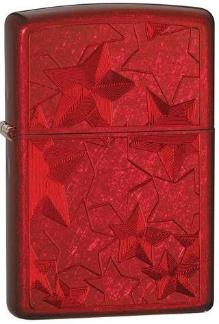 Зажигалка Stars Candy Apply Red Zippo