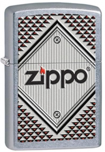 Зажигалка Zippo Red and Chrome
