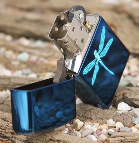 ��������� Zippo Sapphire Dragonfly