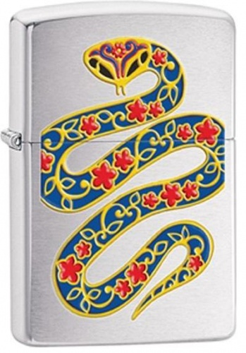 Зажигалка Zippo Year of the Snake