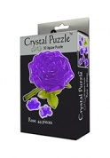 3D головоломка Роза пурпурная Crystal Puzzle