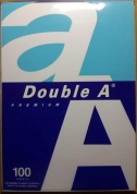 Бумага DOUBLE A, А4, белизна 175%CIE, 80 г/м, 100 л, эвкалипт DOUBLE A Public Co Ltd