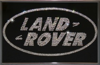 Land Rover Giftcrystal