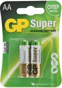 Батарейка Super Alkaline AA (LR06) 15A CR2 GP