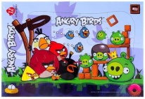 Пазл 12 элементов ANGRY BIRDS Хатбер