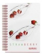 Блокнот FRESH FRUIT STRAWBERRY на спирали Herlitz