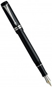 Перьевая ручка Parker Duofold International F89, Black PT (Перо F)