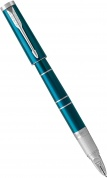 Ручка 5й пишущий узел Parker Ingenuity Slim F504, Green Teal CT