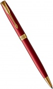 Шариковая ручка Parker Sonnet Core K539, Lacquer Intense Red GT