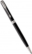 Шариковая ручка Parker Sonnet Slim Core K430, Lacquer Deep Black CT