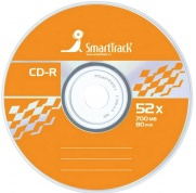 Диск CD-R 700Mb Smart Track 52x Cake Box (50шт)
