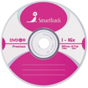 Диск DVD-R 4.7Gb Smart Track 16x Slim