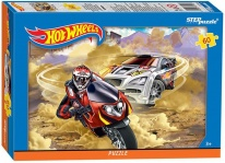 Пазл 60 эл. Hot Wheels Степ Пазл