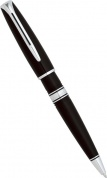 Шариковая ручка Waterman Charleston, Ebony Black CT