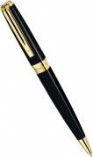 Шариковая ручка Waterman Exception Slim, Black Lacquer GT