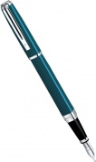 Перьевая ручка Waterman Exception Slim, Green Lacquer ST (Перо F)