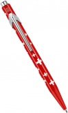 Шариковая ручка Caran d`Ache Office 849 Totally Swiss, Red