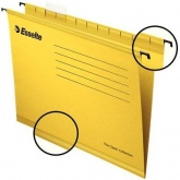 Подвесная папка ESSELTE PENDAFLEX PLUS FOOLSCAP, желтый, цена за 1шт