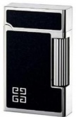Зажигалка Givenchy Lighter BLACK ENAMEL, PALLADIUM