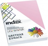 Бумага цветная, Index Color, 80гр, А4, розовый (25), 100л INDEX COLOR
