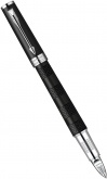 Ручка Parker 5th Ingenuity Large F501, Black Rubber CT