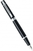 Перьевая ручка Sheaffer 300, Glossy Black Chrome CT (Перо F)