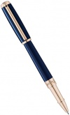 Ручка-роллер S.T.Dupont Elysee Medium, Blue / Gold