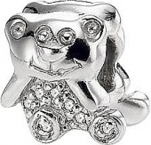 Подвеска Teddybear Silver symbols Sterlinks