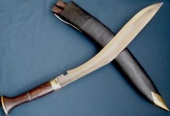 Нож кукри Royal Nepal Buff Head wooden handle Tojiro
