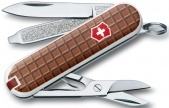 Нож-брелок Classic The Chocolate Victorinox